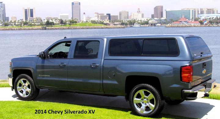 2014 Chev Silverado XV Canopy