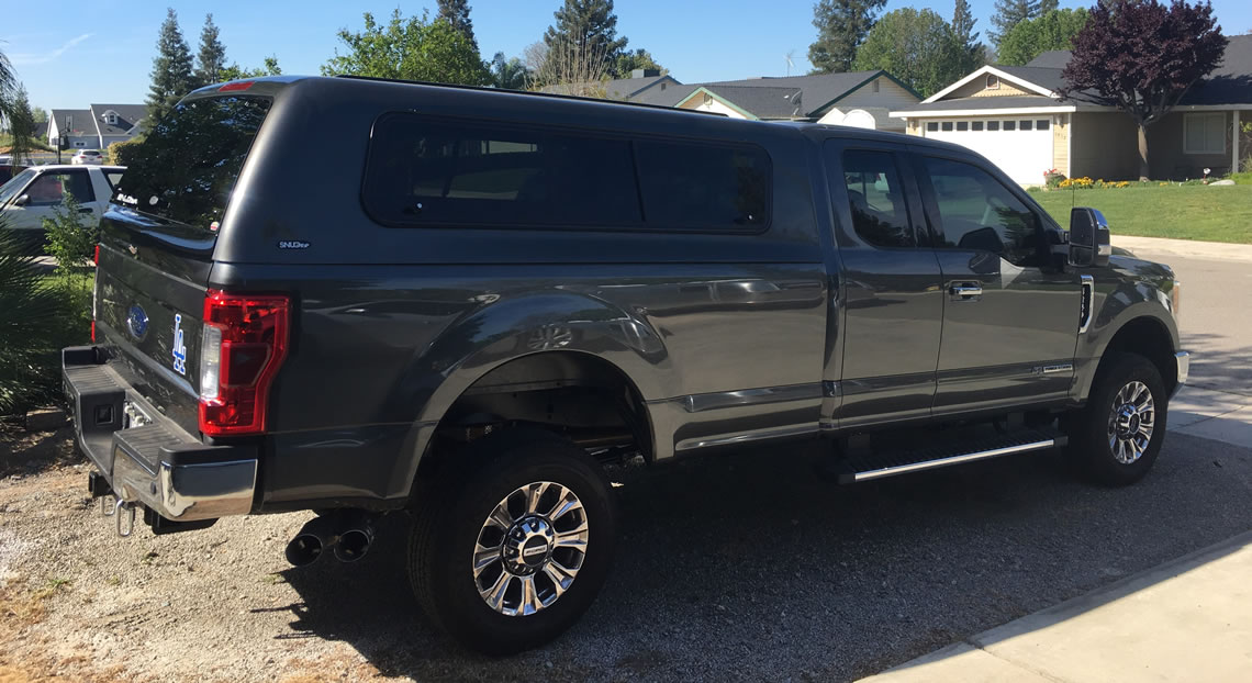 Ford F250 Canopy